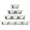 Multiple Recessed Lighting Fixtures