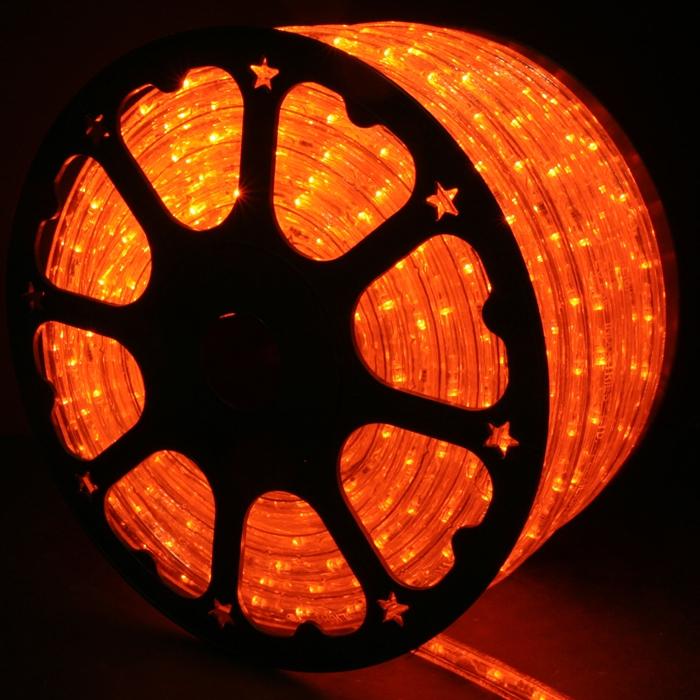 Orange led rope lights 148ft rlwl 148 or direct lighting orange rope lights led 148 in dark room aloadofball Image collections
