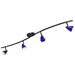 4-Light Bar Track Lighting Kit D268-44C-DB-BLS - D268-44C-DB-BLS