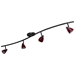 4-Light Bar Track Lighting Kit D268-44C-DB-BRED - D268-44C-DB-BRED