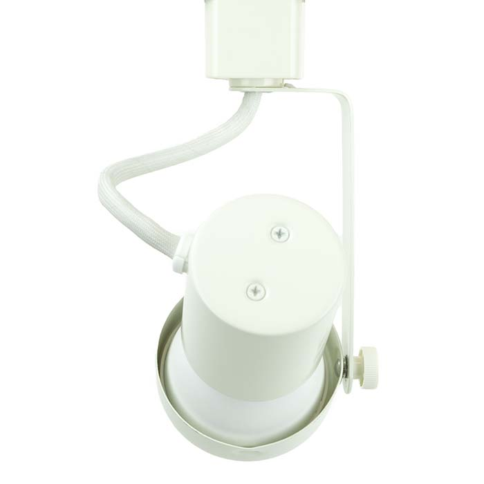 50004-L20-3K-WH Gimbal Ring LED Track Lighting Fixture
