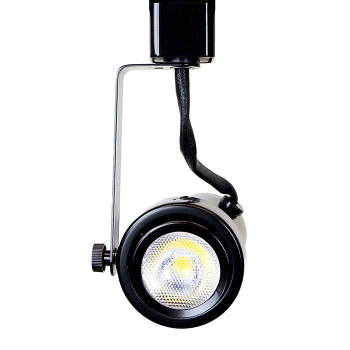 Rear Loading Gimbal Ring LED Track Lighting 50004-L20-4K-BK  - 50004-L20-4K-BK-HT