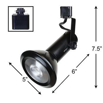 Shop 50158 L38 4K BK LED Track Lighting Fixture Direct 888 62