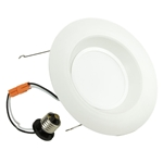 "6"" LED Recessed Retrofit Downlight Kit LLED-RE6-20W-3K 6"" Recessed Lighting,Energy Star Recessed Lighting, New Construction Recessed Housing,LED-RE6-20W-3K"