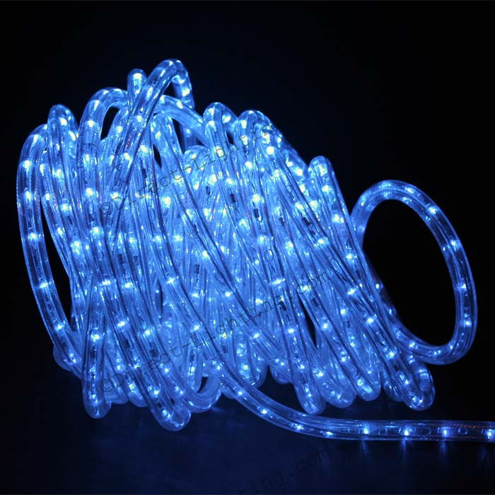 Blue led rope lights 50ft rlwl 50 blue direct lighting blue rope lights led 50 mozeypictures Images