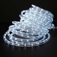 Cool White LED Rope Light 50ft - RLWL-50-CW Cool White LED Rope Lights, Cool White, LED Rope Light, Rope Lights, Rope Lighting, Ropelight, Christmas, Holiday, 50FT,  RLWL-50-CW