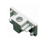 Double Circuit End Cap 50147 Track Lighting Accessories, Track, Single Circuit, JUNO TRACK, HALO TRACK, End Cap