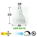 GU10 LED Track Lighting Kit 50155-3KIT-4K-BK - 50155-3KIT-4K-BK-50090