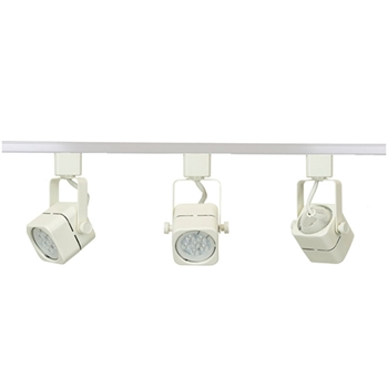 LED Track Lighting Fixture 50155LED-WH-6K