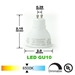GU10 LED Track Lighting Kit 50155-3KIT-6K-BK - 50155-3KIT-6K-BK-50090