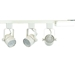 GU10 LED Track Lighting Kit 50163-3KIT-3K-WH - 50163-3KIT-3K-WH-50090