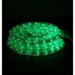 Green LED Rope Light - RLWL-24-GREEN LED Rope Light, Christmas Rope Lights, Holiday Decorative Light, Rope Lights, RLWL-24-GREEN