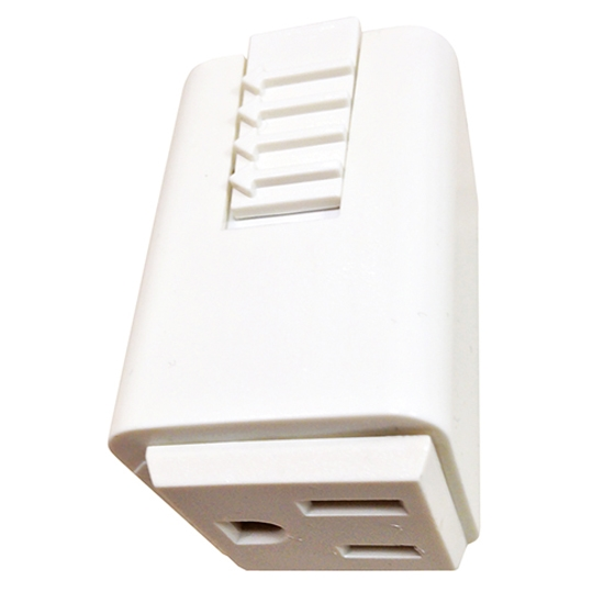 Juno Trac-Master Outlet Adapter - T33-WH