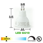 LED Light Bulb LB-3003-3000K LED Bulbs, LED GU10, LED Light Bulbs, CREE Chip Bulbs, Energy Saving Bulb, Light Bulb, LB-3003-3000K