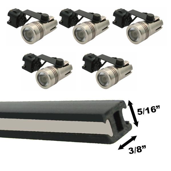 led track lighting kit 5xm52kit