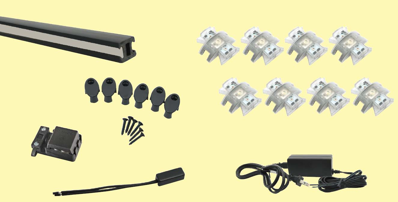LED Track Lighting Kit 8XM88-KIT - 8XM88-KIT