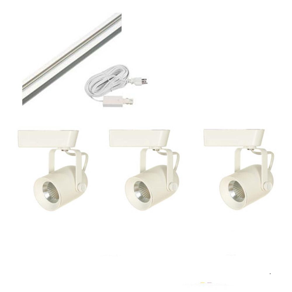 led track lighting kit ht60088 white