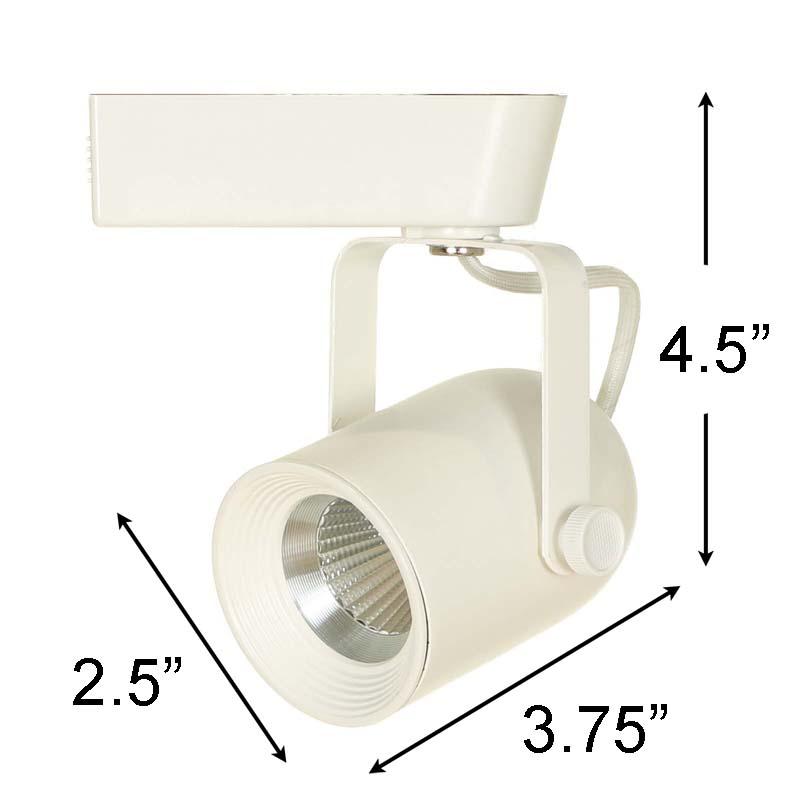 LED Track Lighting Kit HT-60088 White  sc 1 st  Direct-Lighting.com & LED Track Lighting Kits u0026 LED Track Lighting Systems HT-60088 ... azcodes.com