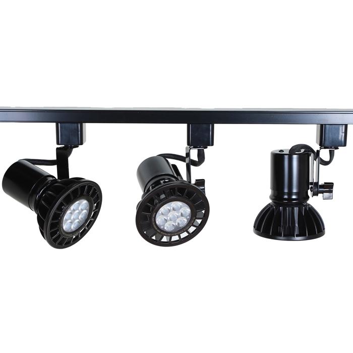 Led track lighting kits led par30 track lighting systems ht led par30 track lighting kit mozeypictures Image collections