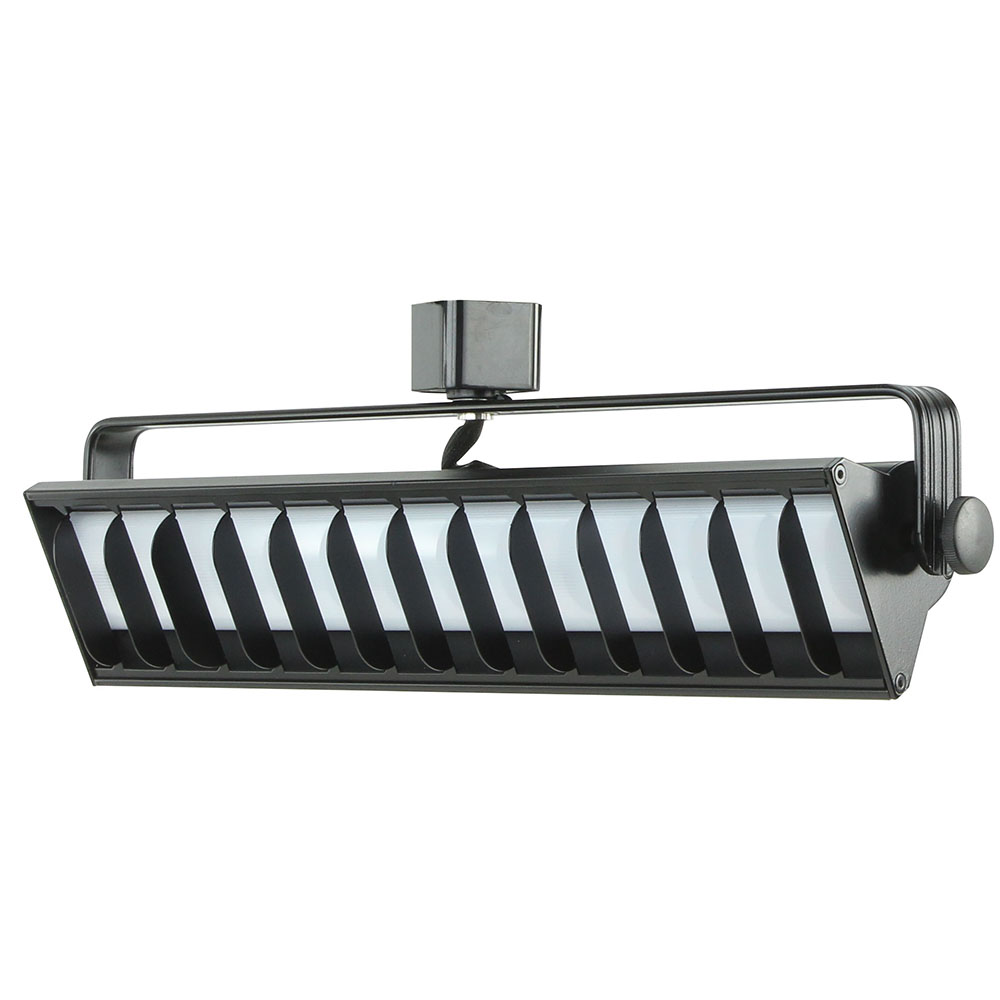 Shop led wall washer track lighting h or j typed etl listed 60091 led wall washer track lighting fixture 60091 60091 bk ht arubaitofo Images