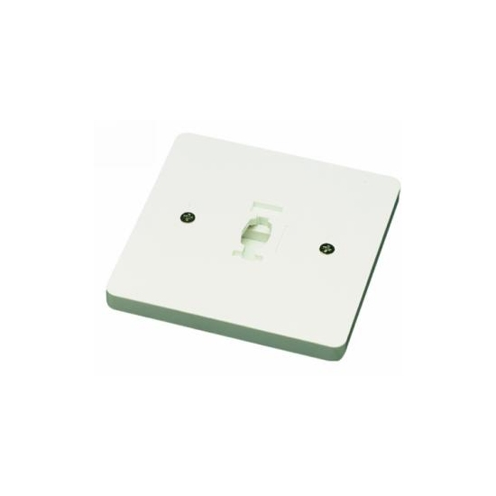Line Voltage Square Monopoint Plate Adaptor