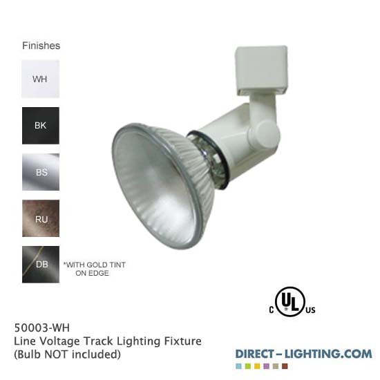 Line Voltage Track Lighting 50003