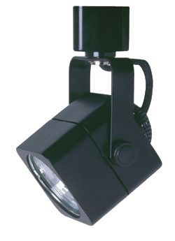 Line Voltage Track Lighting Black