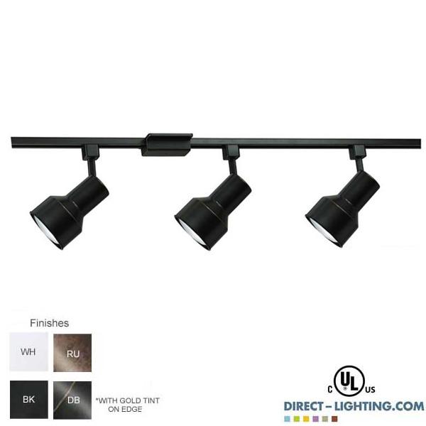 Line Voltage Track Lighting Kit 500093fc Bk Ht