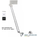 Low Voltage Telescopic Arms Track Lighting Fixture 50020