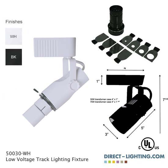 Low Voltage Track Lighting w/ Projection Lens