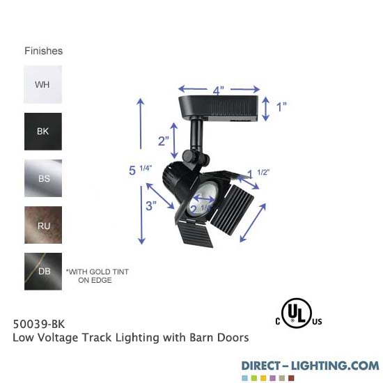 Low Voltage Track Lighting Barn Doors Track Lighting