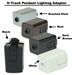 Mini Pendant Lighting DPN-24-6-AMP - DPN-24-6-AMP-DCP-84-RU