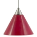 Mini Pendant Lighting DPNL-25-6-RED - DPNL-25-6-RED-DCPL-85-BS + BO-78