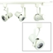 Read Loading Gimbal Ring LED Track Lighting Kit 4K in White