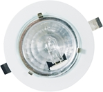 "Low Voltage Puck Light BO-603 Puck Lights, Puck Lighting, Puck Light, Surface Mount, Recessed Mount, Under Cabinet Lighting, Trade Show Lighting, Mini, Low Voltage, Halogen,  JC, G4, Bi-Pin, UL, 3"", BO-603"