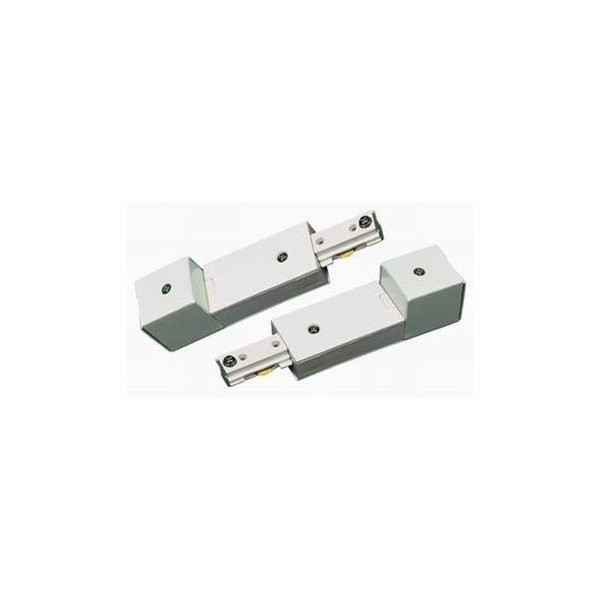 Track Lighting Conduit Fitter Continuation Kit White