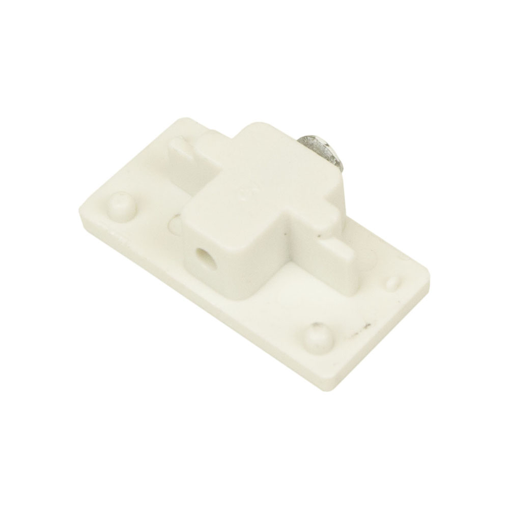 Track Lighting End Cap 50089 - 50089-HT-WH