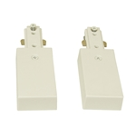 Track Lighting Live End Continuation Pair Connector 50114 Live End Connector, Track Lighting Accessories,Track Lighting Fixture,Track Lighting Live End Continuation Pair Connector,50114