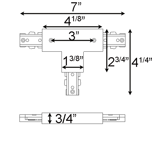 ... Track Lighting T Shaped Connector Reverse Polarity ...