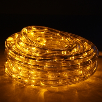 Yellow Rope Lights LED 24'