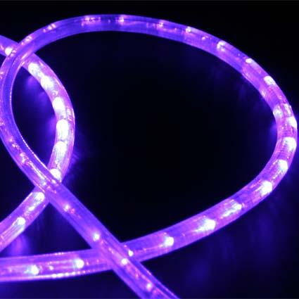 Led rope lights custom length hc106 purple direct lighting led rope light hc106 aloadofball Choice Image