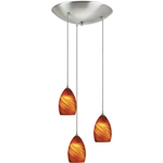 Pendant Lighting Kit PCL3-959-BS  pendant lighting, pendant lights, pendant light, pendant lighting kit, pendants lighting, hanging pendant lights, pendant light fixtures, contemporary pendant lighting, pendant light kit, low voltage pendant lightings