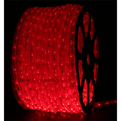 LED Rope Light H101 Red  LED Rope Lights, LED Rope Light, Affordable LED Rope Lights, LED Rope Light, Outdoor LED Rope Light, LED 120V, Red LED Rope Light