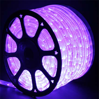 LED Rope Light H106 Purple  LED Rope Lights, LED Rope Light, Affordable LED Rope Lights, LED Rope Light, Outdoor LED Rope Light, LED 120V, Purple LED Rope Light