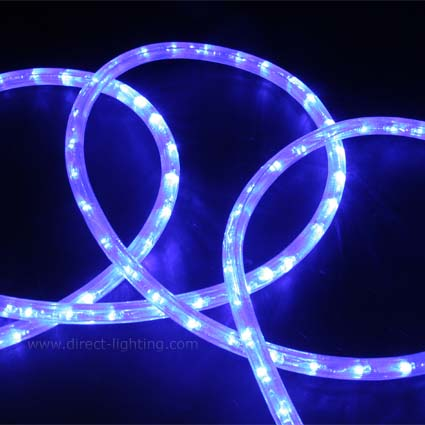 LED Rope Light HC105 LED Rope Light, Custom LED Rope Light, Custom Length, Affordable LED Rope, LED Rope Lighting By The Foot, LED 120V, Decorating Lighting, Led Rope Light, Cool Blue Color