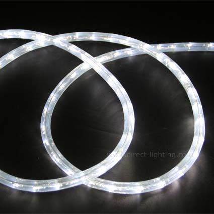 LED Rope Light HC108 LED Rope Light, Custom LED Rope Light, Led Rope Light Cool White, Custom Length, Affordable LED Rope, LED Rope Lighting By The Foot, LED 120V, Decorating Lighting