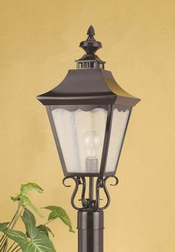 Outdoor Lighting OL-139PS-BK Outdoor post light