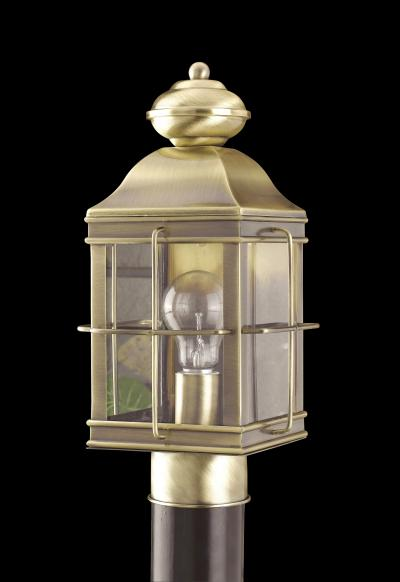 Outdoor Lighting OL-141PS-AB Outdoor post light