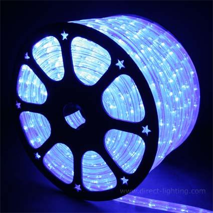 Blue led rope lights 148ft rlwl 148 bl direct lighting blue rope lights led 148 aloadofball Choice Image