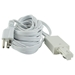18FT Cord and Plug Set For Track 50088 - 50088-HT-WH